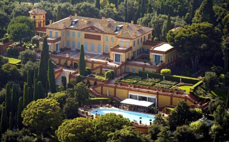 biggest houses in the world Villa Leopolda