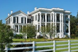 biggest houses in the world Nottoway Plantation