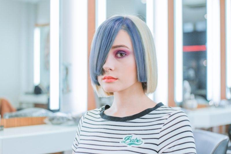 bizarre flight attendant rules: colored hair