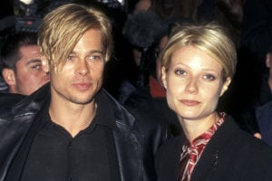 Brad Pitt news Gwyneth Paltrow at The Devil's Own New York City Premiere