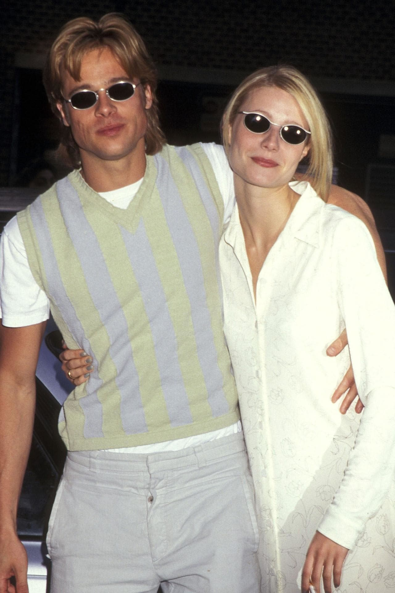 Brad Pitt news Gwyneth Paltrow sunglasses