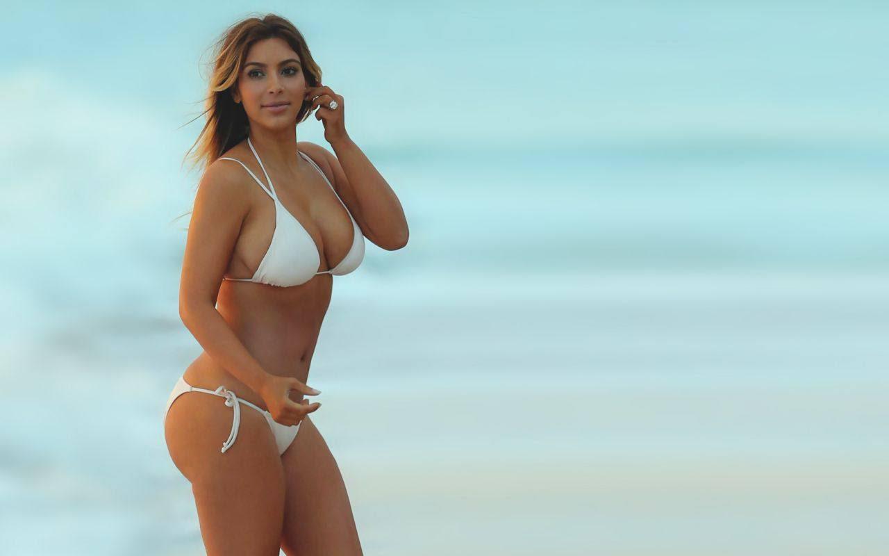 celeb bikini bod Kim Kardashian