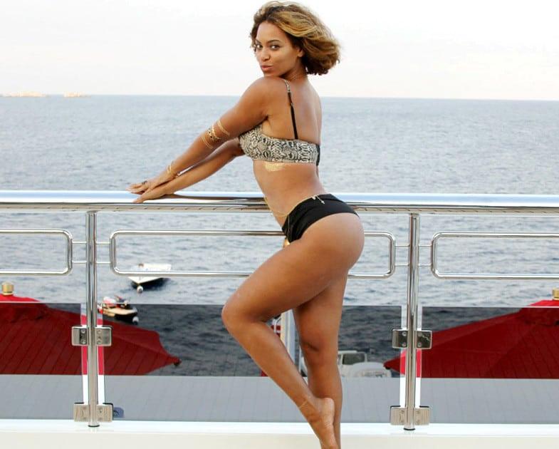 celeb bikini bod Beyonce