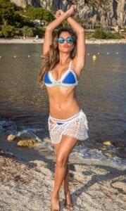 celeb bikini bod Nicole Scherzinger