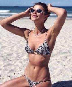 celeb bikini bod Georgia Fowler