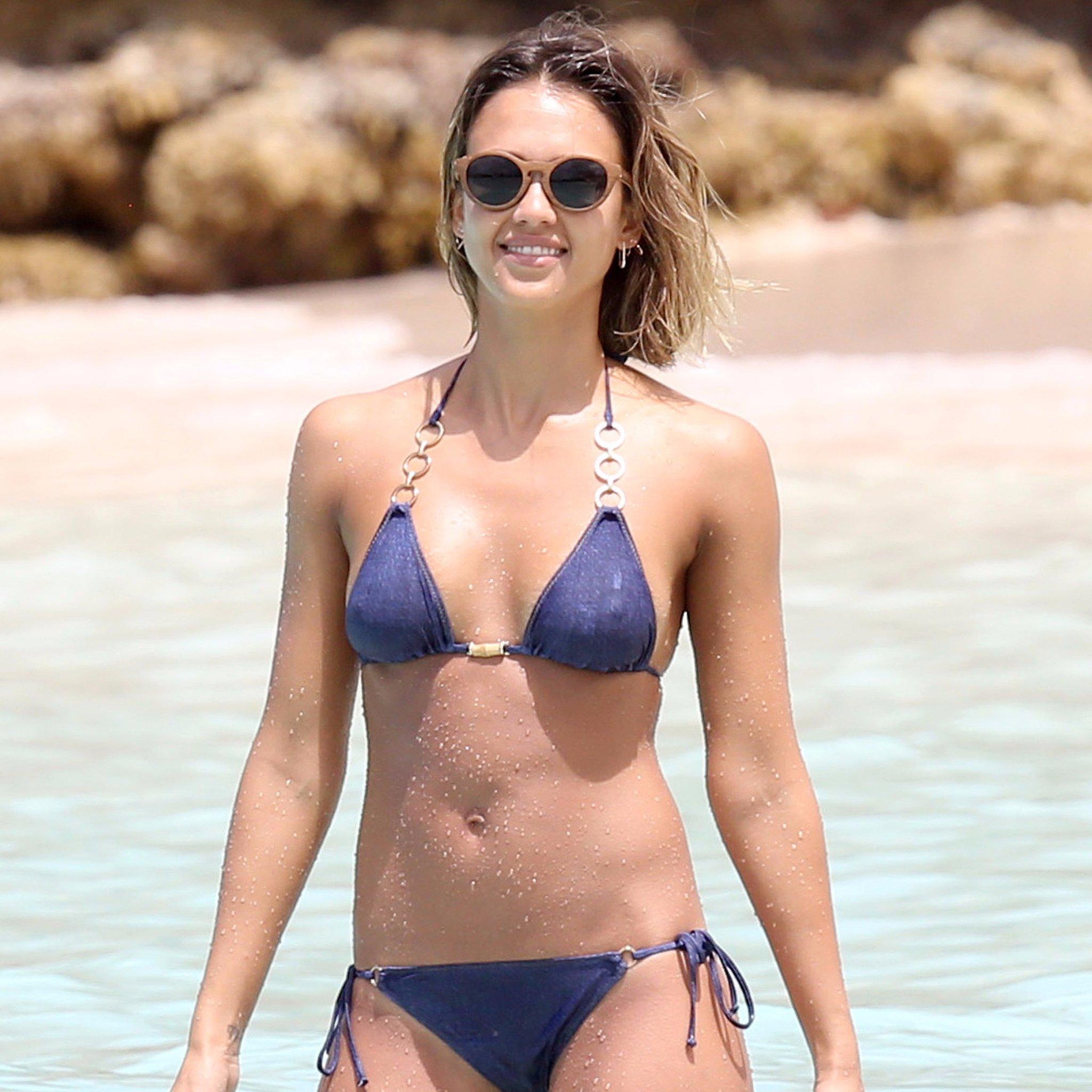 celeb bikini bod Jessica Alba