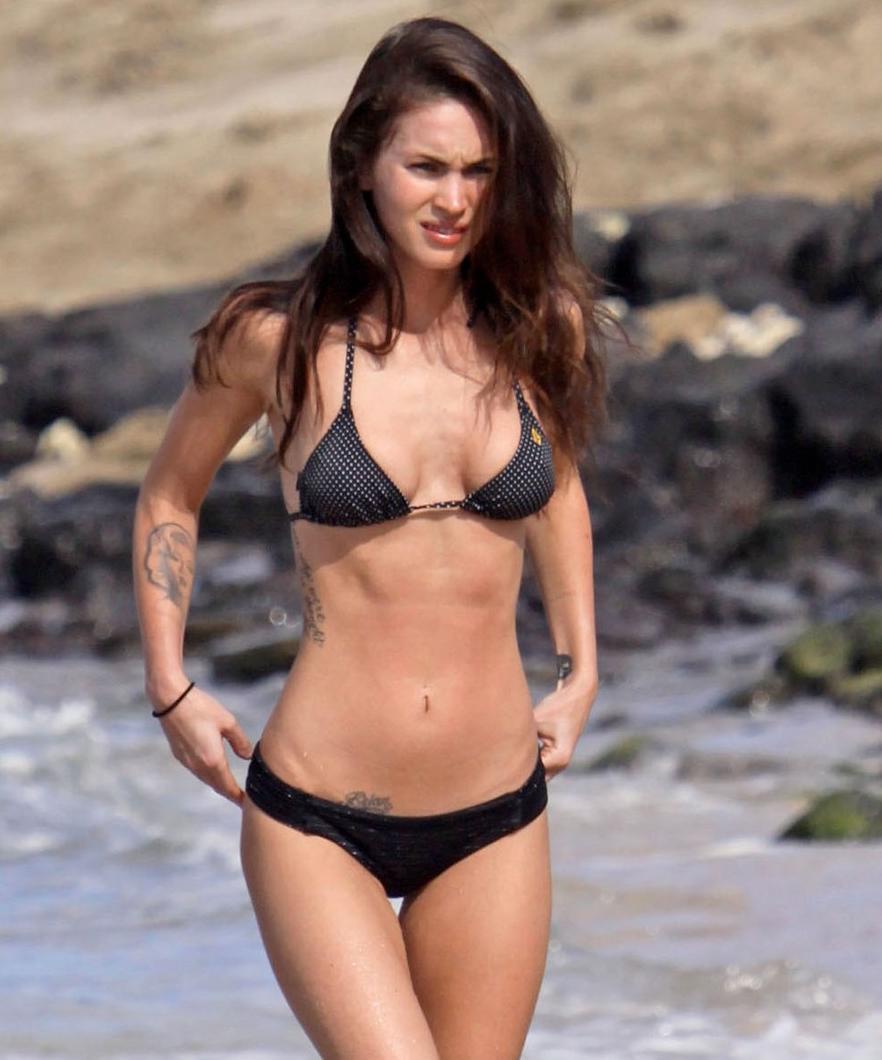 celeb bikini bod Megan Fox