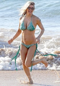 celeb bikini bod Fergie