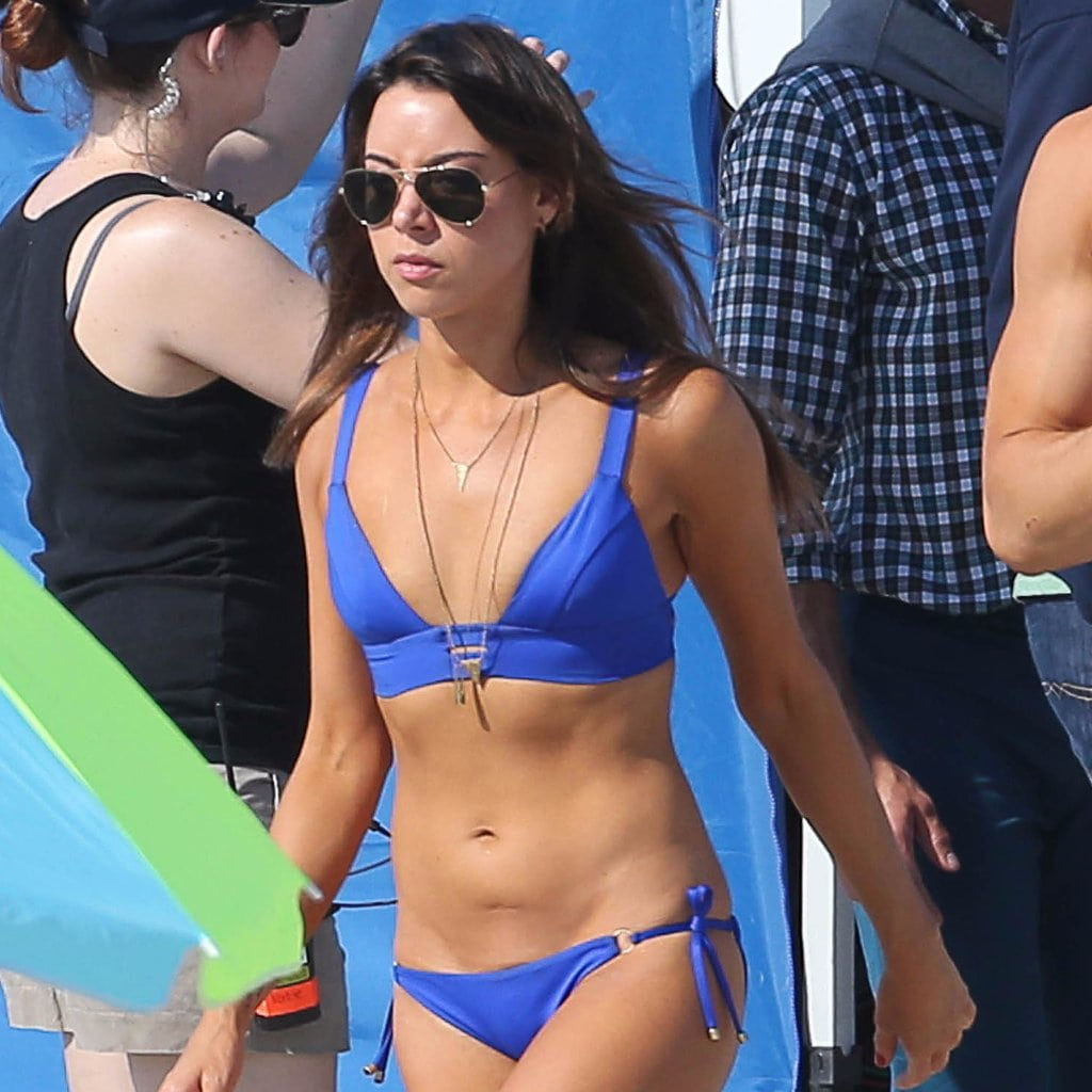 celeb bikini bod Aubrey Plaza