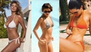 celeb bikini bod collage