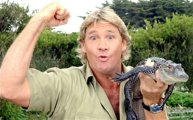 celebrities who died young Steve Irwin