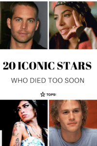 celebrities who died young pinterest