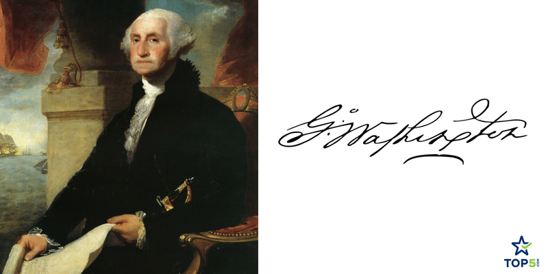unique signatures george washington