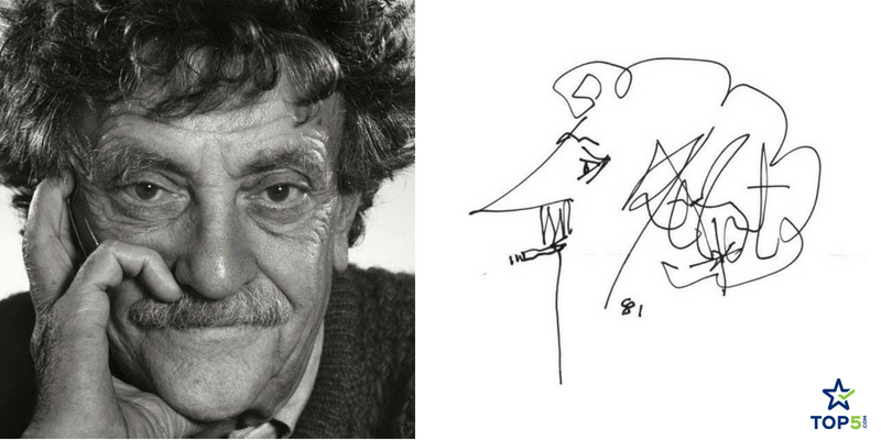 kurt vonnegut writer signatures