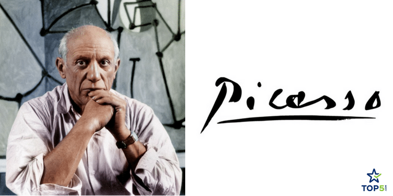 famous artists signatures picasso