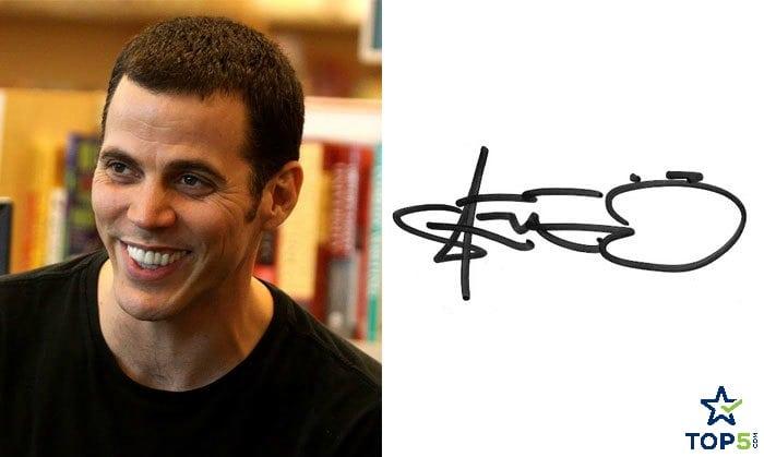 celebrity autographs Steve-O