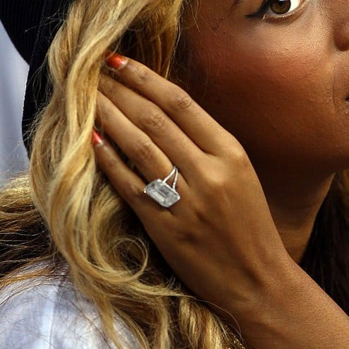 Celebrity engagement rings: Beyoncé