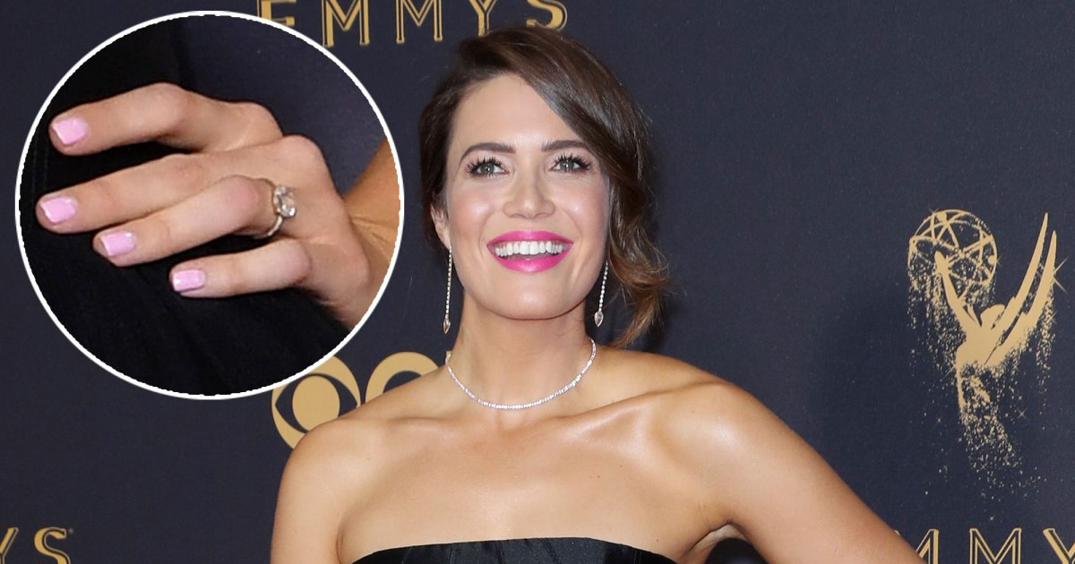 celebrity engagement rings mandy moore