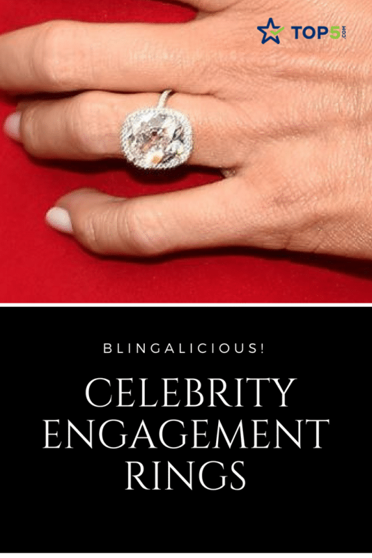 "Blingalicious: Celebrity Engagement Rings ""width ="" 534 ""height ="" 800"