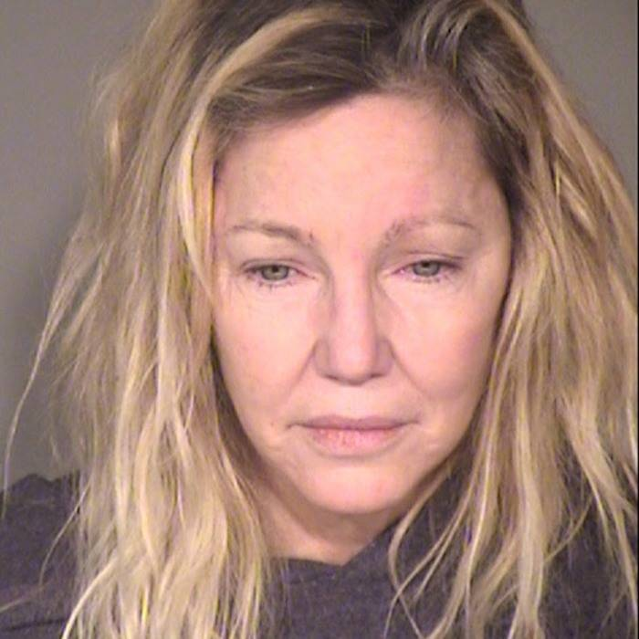 celebrity mug shots Heather Locklear