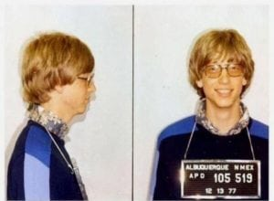 celebrity mug shots bill gates