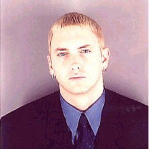 celebrity mug shots Eminem