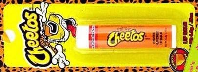 failed products cheetos lip balm
