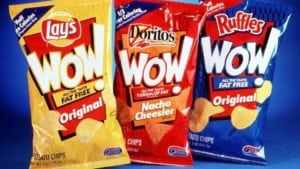 failed products frito lay wow chips