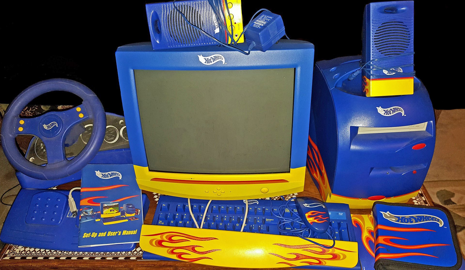 failed products hot wheels computer