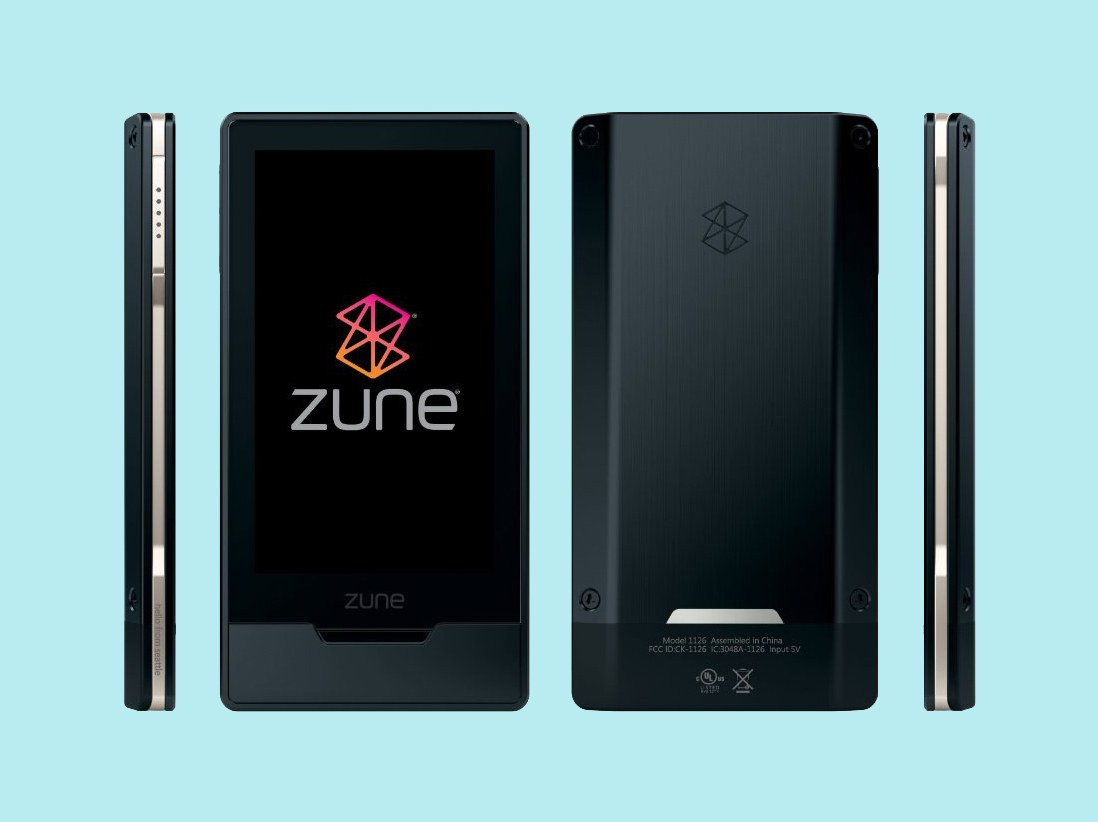 failed products zune microsoft