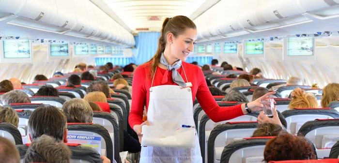 flight attendant requirements: serving