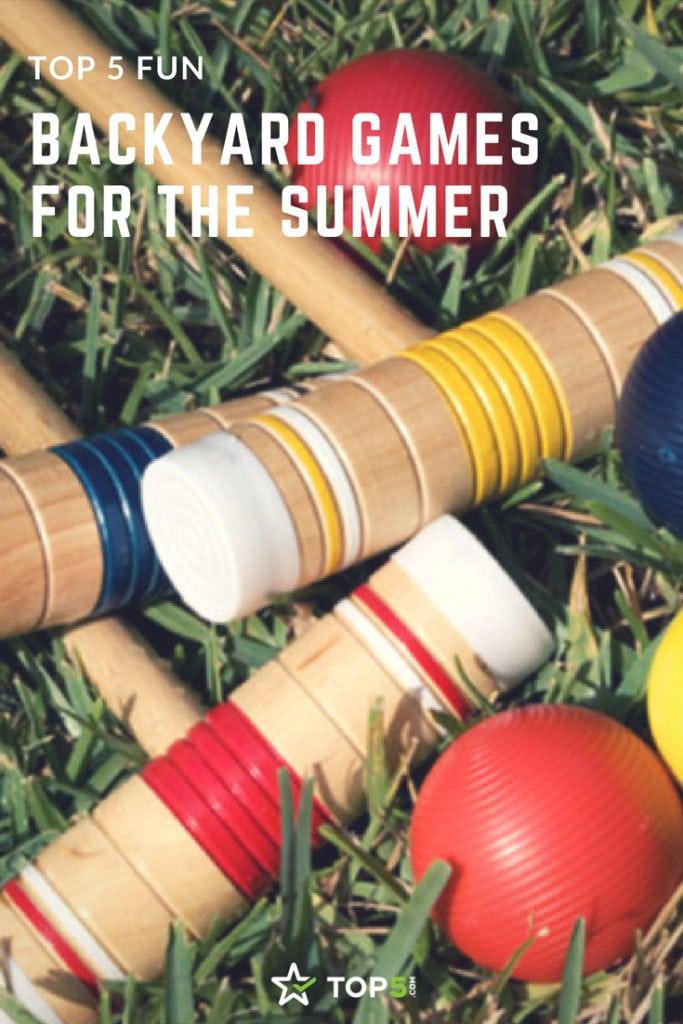 fun backyard games for the summer
