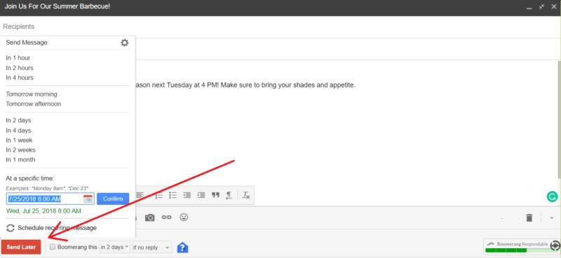 gmail hacks boomerang