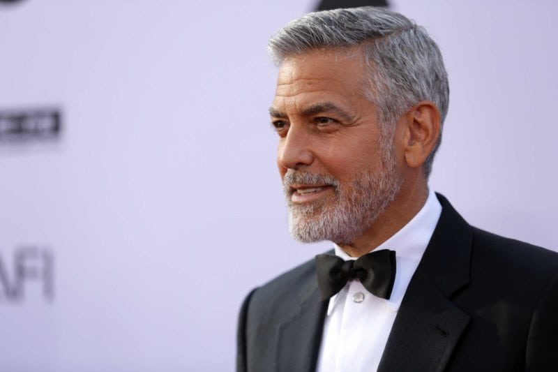hot older celebrities george clooney