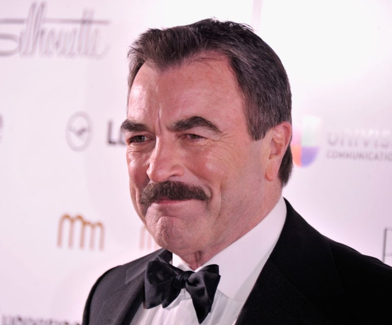 hot older celebrities tom selleck