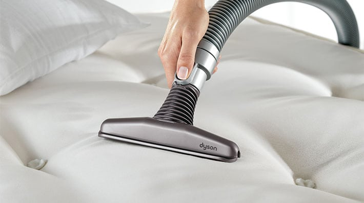how to clean a mattress: vacuum it