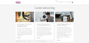 job seeking advice bubble