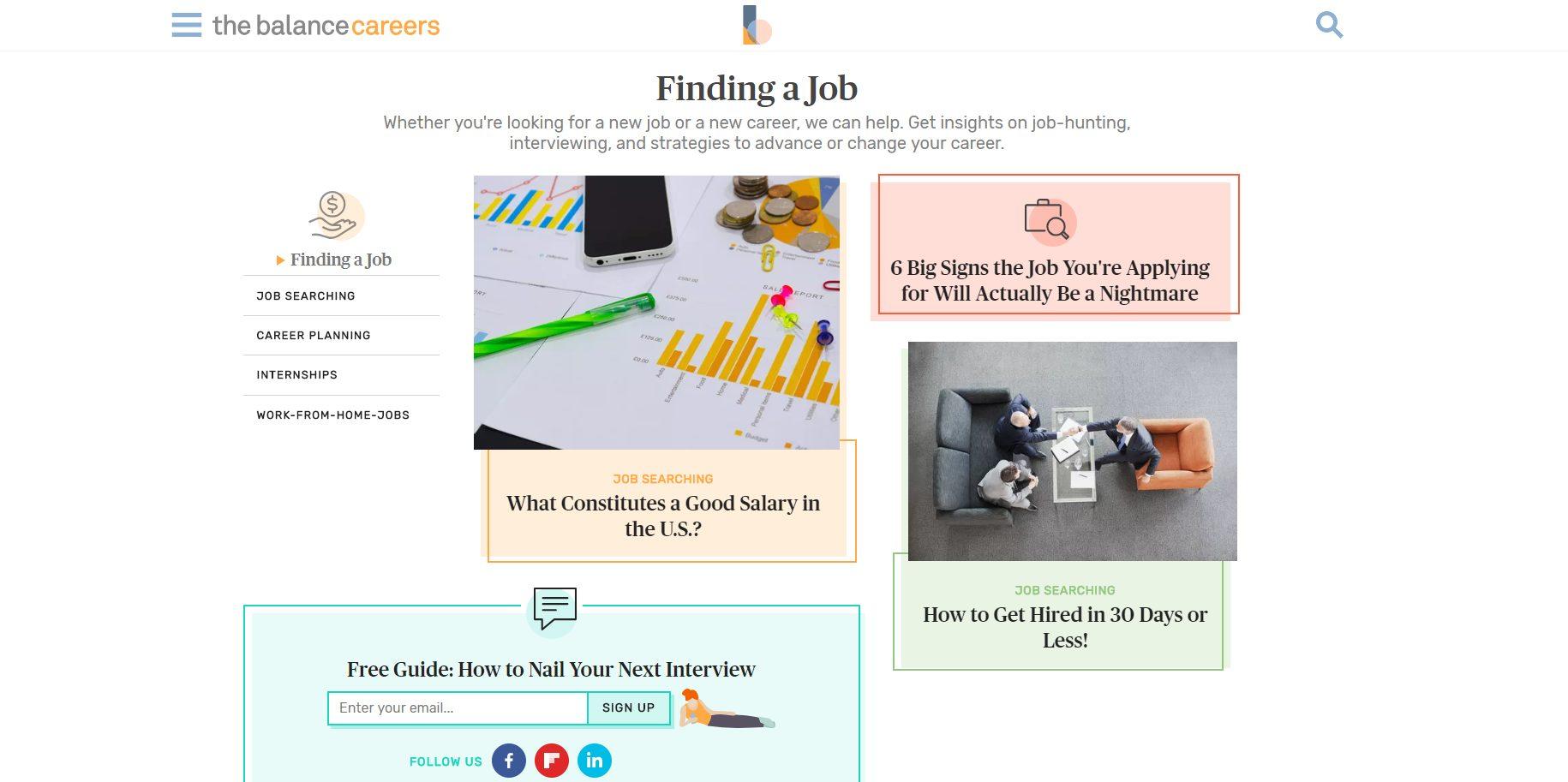 job search advice the balance careers