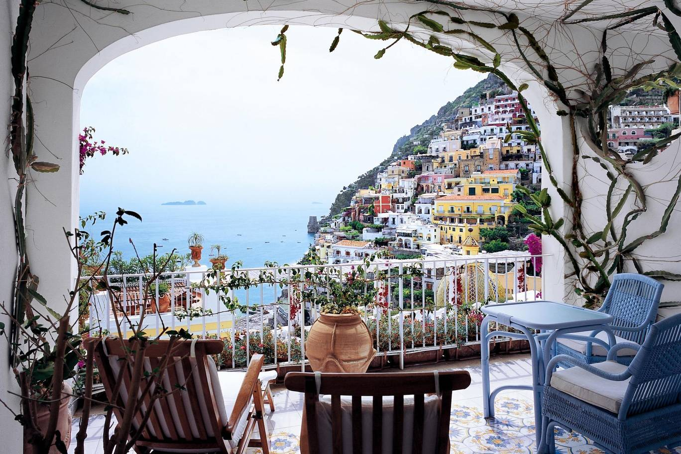luxury travel positano view