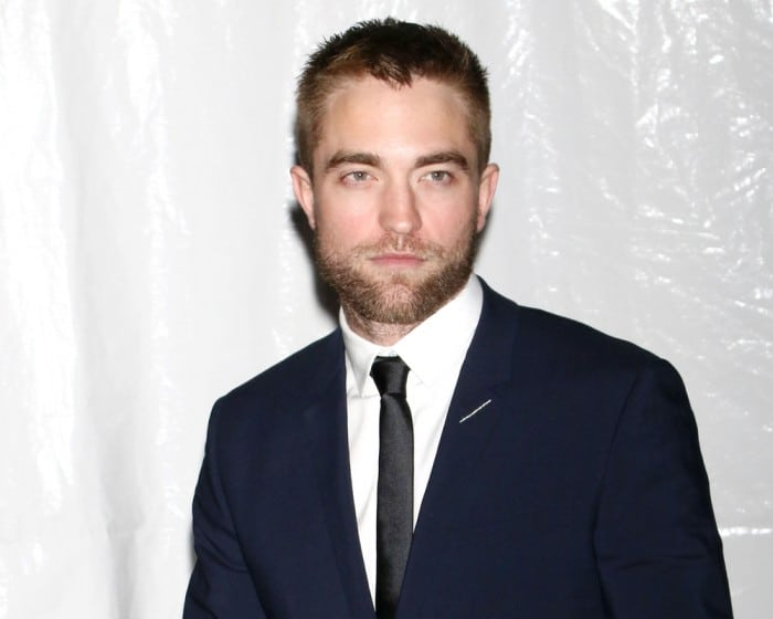 British celebrity Robert Pattinson