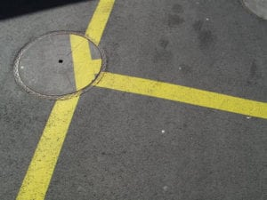 ocd photos - painted road lines