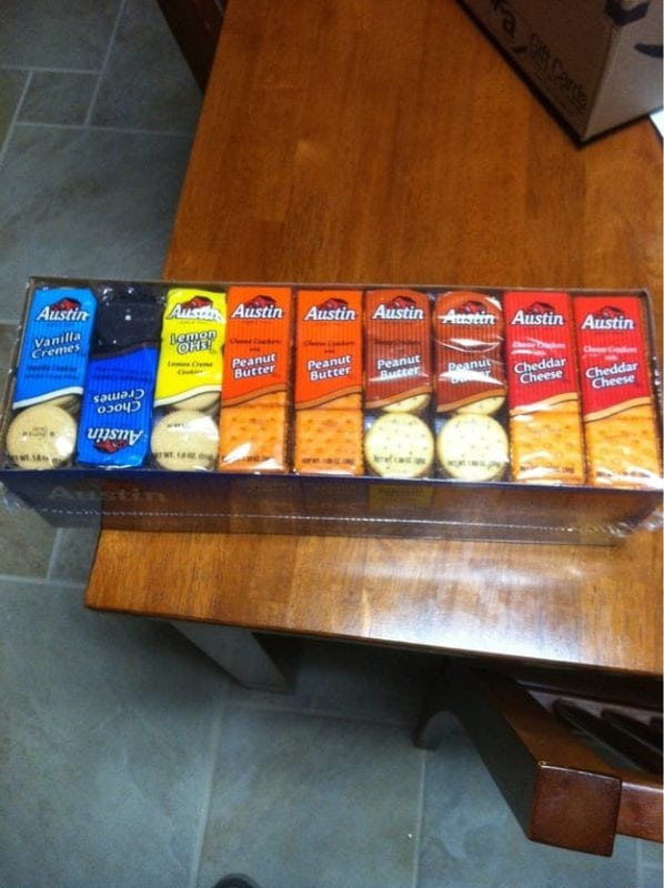 ocd photos - stacked crackers