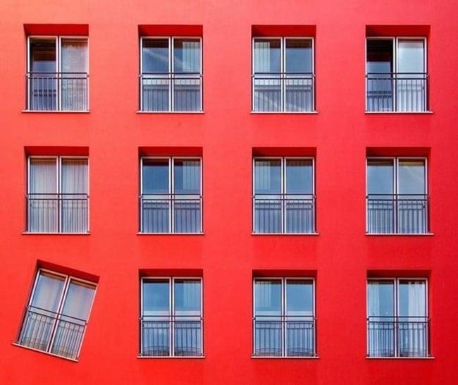 OCD photos - wonky window