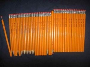 pencils out of order - ocd photos