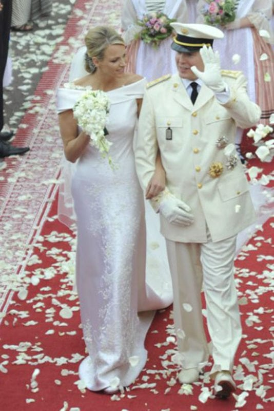 Royal Wedding Dresses - Charlene Wittstock