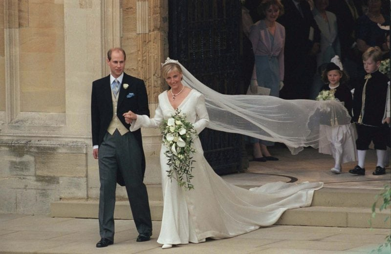 Royal Wedding Dresses - Sophie Rhys-Jones