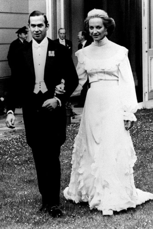 Royal Wedding Dresses - Baroness Marie Christine von Reibnitz