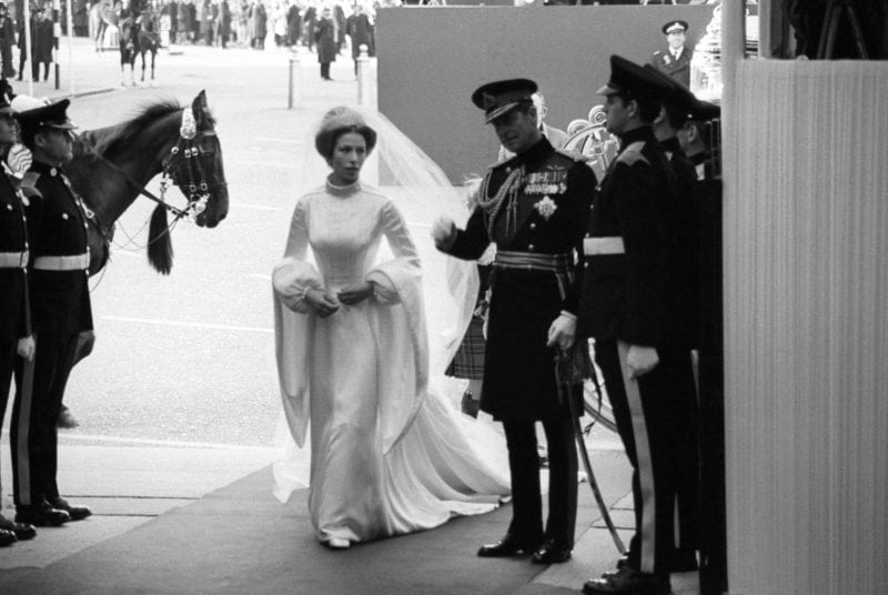 Royal Wedding Dresses - Princess Anne