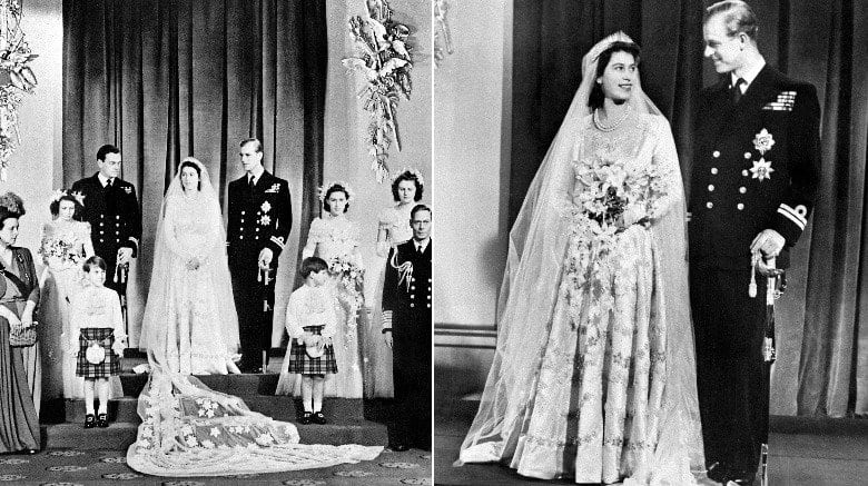 Royal Wedding Dresses - Queen Elizabeth