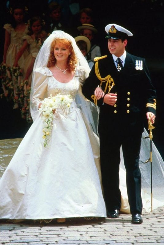 Royal Wedding Dresses - Sarah Ferguson